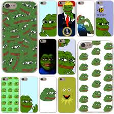 Iphone 5 Meme - the frog meme memes hard phone case for iphone 5 5s se 6 6s plus 7