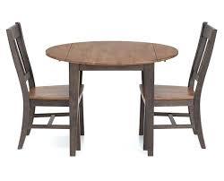 drop leaf dining room table drop leaf round table hudson park 3 pc round drop leaf dining room