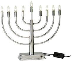 electric menorah 16 best electric menorahs led battery usb operated hanukkah