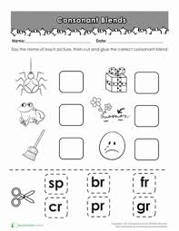 first grade cut and paste worksheets free worksheets library