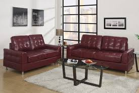 Leather Sofa Loveseat Burgundy Leather Sofa And Chair Decorating Ideas Set Loveseat