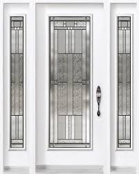 Steel Exterior Doors With Glass Front Doors With Sidelites And 3 4 Glass Search
