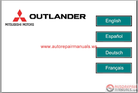 28 2007 mitsubishi outlander owners manual 2763 automotive