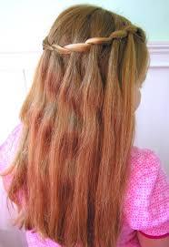 cute hairstyles gallery beautiful cascade waterfall braid hairstyles gallery hairstyles weekly