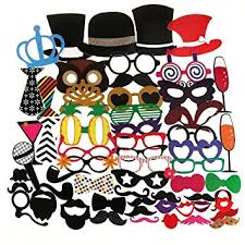 Photo Booth Accessories Amazon Com Tinksky Photo Booth Props 60pcs Kit For Wedding Party