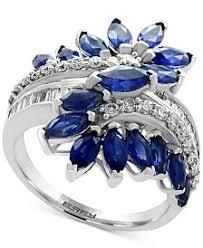 saphire rings sapphire rings macy s
