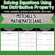 the 25 best example of distributive property ideas on pinterest