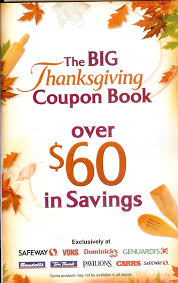 thanksgiving fall coupon books at safeway