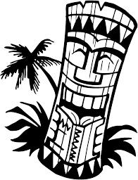 hawaiian tiki clip art borders clipart panda free clipart images