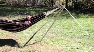 furniture cypress roman arc 15 ft wood hammock stands for