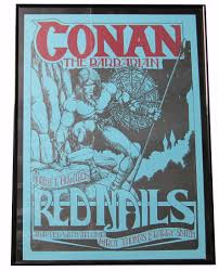 prints u0026 posters conan red nails poster