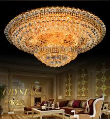 led ceiling dome light luxurious k9 crystal change color remote control led absorb dome