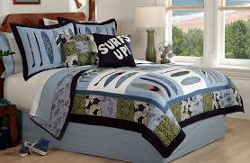 Surfing Bedding Sets Surf Quilt Bedding Boys Surfing Bedding Set In Or