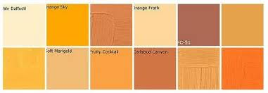 orange paints prepossessing color feast when to use orange in the