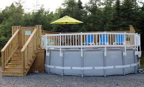 100 resin above ground pool fence kits