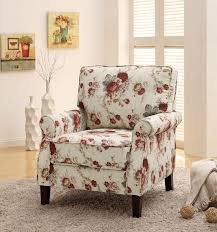 Upholstered Living Room Chairs Chairs Capable Brown And White Accents Photo Design Funiture