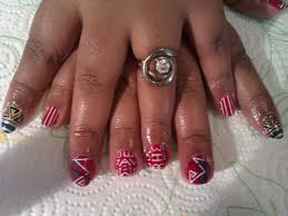 red white and blue nail designs nail designs hair styles