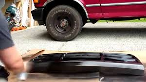 Ford F 150 Truck Body Parts - 92 96 ford f150 grille headlight bezel paint job youtube