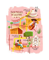 Map Of Guanajuato Mexico by Map Of San Miguel De Allende By Owen Gatley Map Love Pinterest