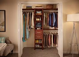 diy small space saving bedroom reach in closet organizing and