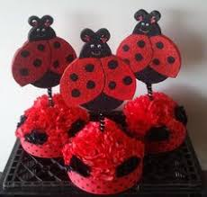 made these cute ladybug flower pots ladybug party centerpieces