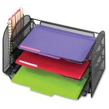 safco onyx mesh desk organizer glennco office products ltd office supplies desk organizers