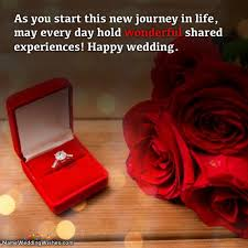 wedding wishes new journey ring gift for you on you wedding