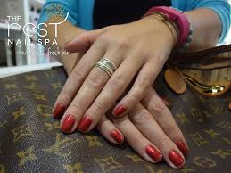 classic and french nail designs the nest nail spa