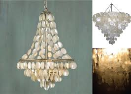 Pearl Chandelier Light Lighting Transform Your Space Into A Tropical Oasis With Cool