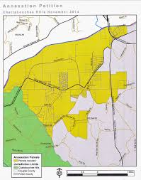 Radford University Map Annexations Whittling Away At Unincorporated South Fulton