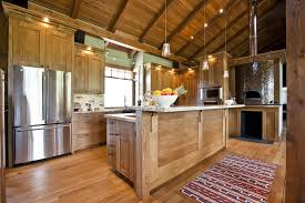 Kitchen Island Calgary Natural Oak Cabinets Rustic Calgary With Kitchen Islands