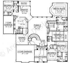 Mediterranean House Plans by Villa Trissano Texas Floor Plans Mediterranean House Plan