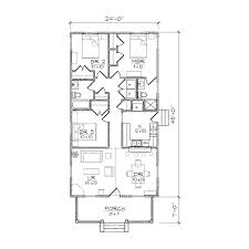 narrow house plans impressive design small one story house plans for narrow lots 4