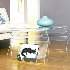 Plexiglass Coffee Table Plexiglass Coffee Tables A Clear Brass Glass And Coffee Tables