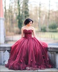 burgundy quince dresses 2017 new design burgundy strapless gown princess quinceanera