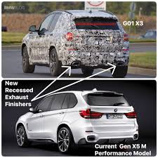 upcoming bmw x3 m40i drops some of its camo