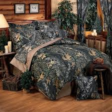 Earth Tone Comforter Sets Camouflage Bedding Cabin Place