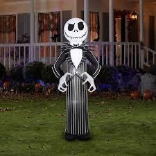 nightmare before christmas decorations halloween skellington and zero nightmare before christmas halloween yard decor