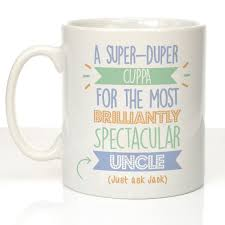 personalised best uncle just ask mug birthday christmas favourite