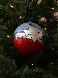 ornaments representing texas