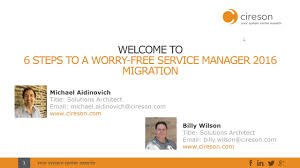 Email Manager Title 6 Steps To A Worry Free Service Manager 2016 Migration On Vimeo