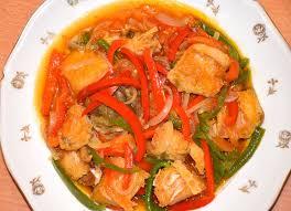 recette poisson salé avec sauce cuisine d afrique