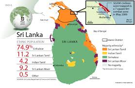Map Of Sri Lanka Sri Lanka U0027s Hidden Genocide Toronto Star