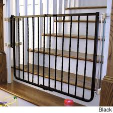 Baby Gate For Stairs With Banister Cardinal Gates Wrought Iron Decor Gate Free Shipping Today