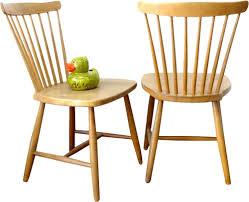 pair of hagafors scandinavian chairs 1960s design market
