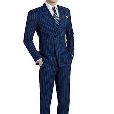 royal blue royal blue pinstripe suit chicerman