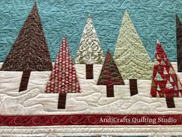 christmas trees and snowballs quilt andicrafts