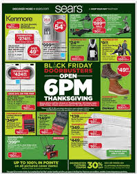 when do target black friday doorbusters start sears black friday 2017 ads deals and sales