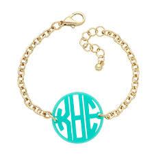 monogrammed bracelets wholesale monogram acrylic bracelets