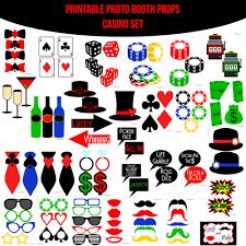 photo booth las vegas instant casino las vegas printable photo booth prop set